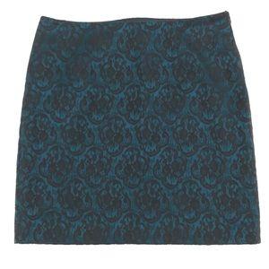 Forever 21   Skirt   Black & Greenish Blue